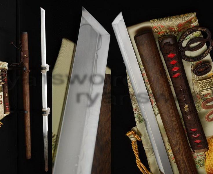 Folded Steel Blade Hualee Saya High Quality NINJA SWORD Sharp