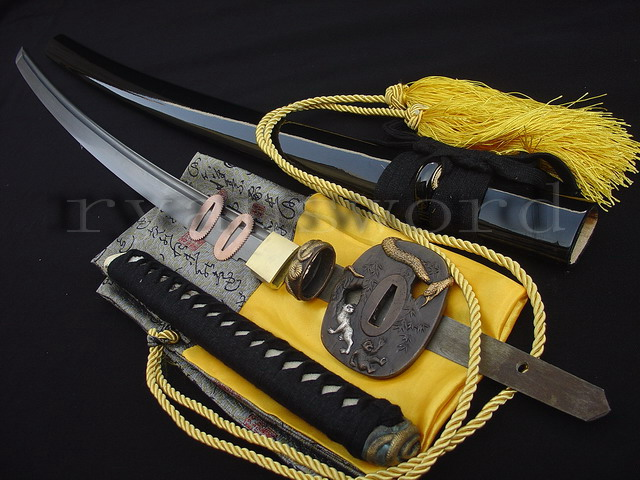 HAND FORGED FOLDED STEEL JAPANESE KATANA SAMURAI SWORD--Ryan391