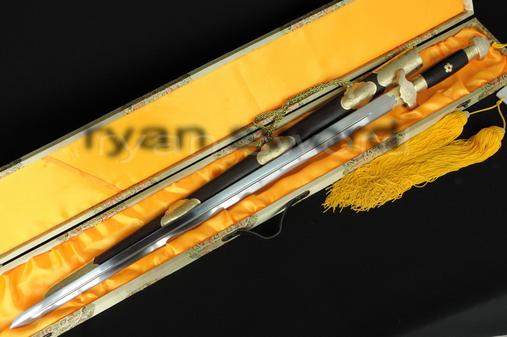 high quality folded steel +1095 carbon steel sanmai chinese(LongQuan) sword--Ryan638